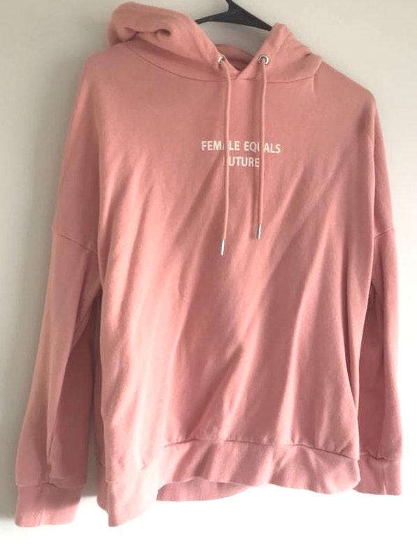 H&M Female Equals Future Pink Sweater