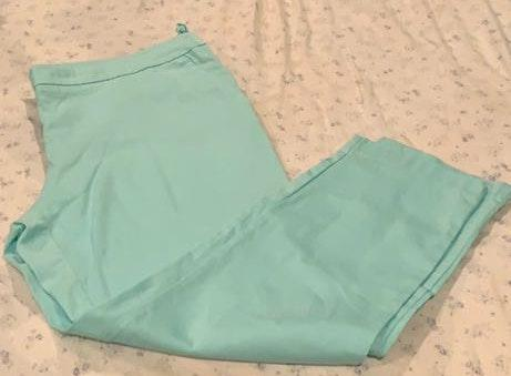 Mint green Capri pants