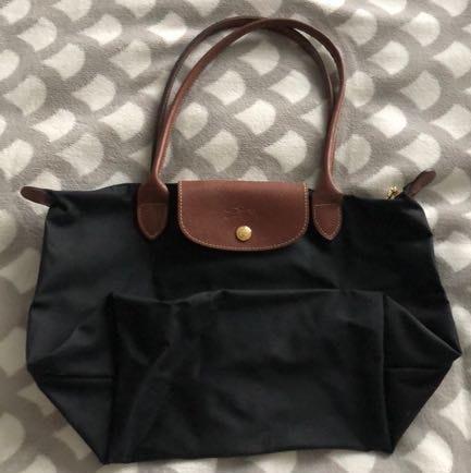 Longchamp Small Black Le Pilage
