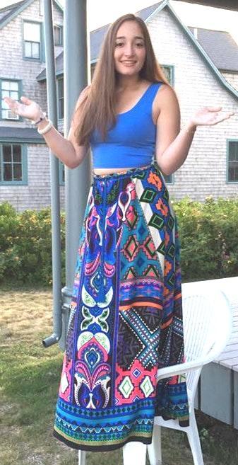 Flying Tomato Maxi Skirt
