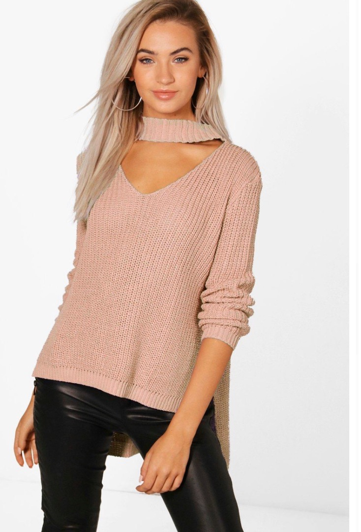 Boohoo Valentines Day Sweater