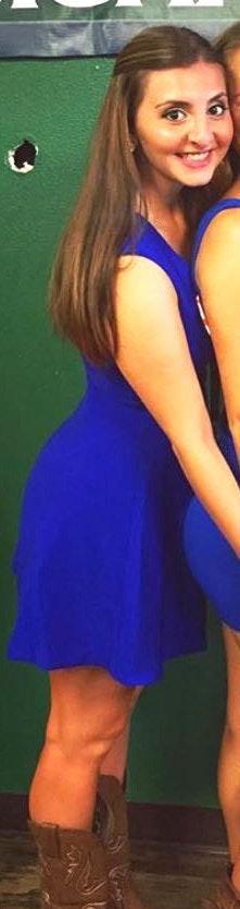 Sugar and L!ps Royal Blue Dress
