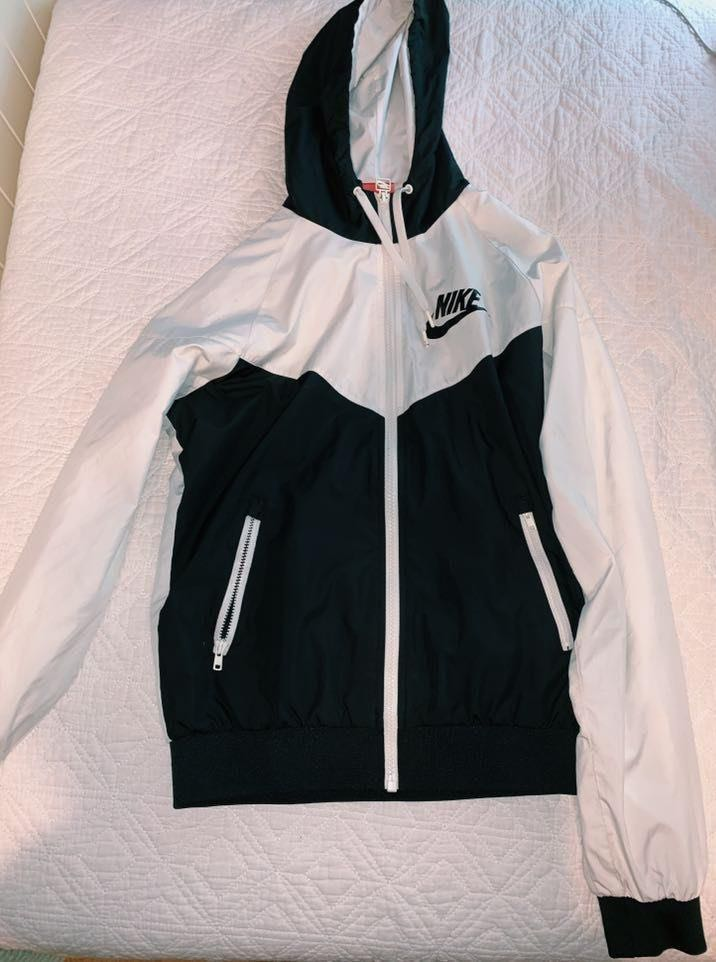 Nike Black & White Windbreaker