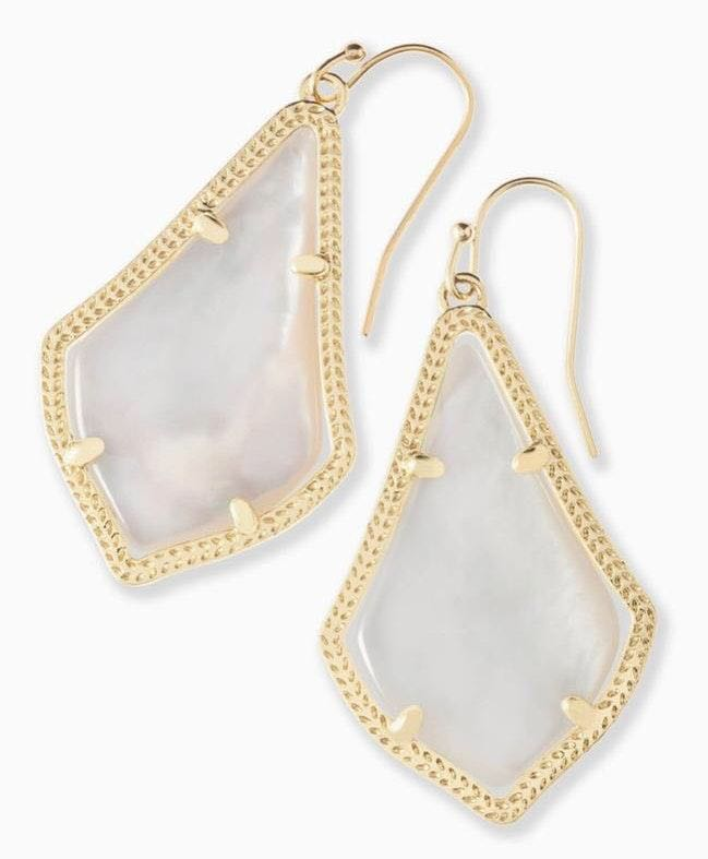 Kendra Scott alex gold drop earring