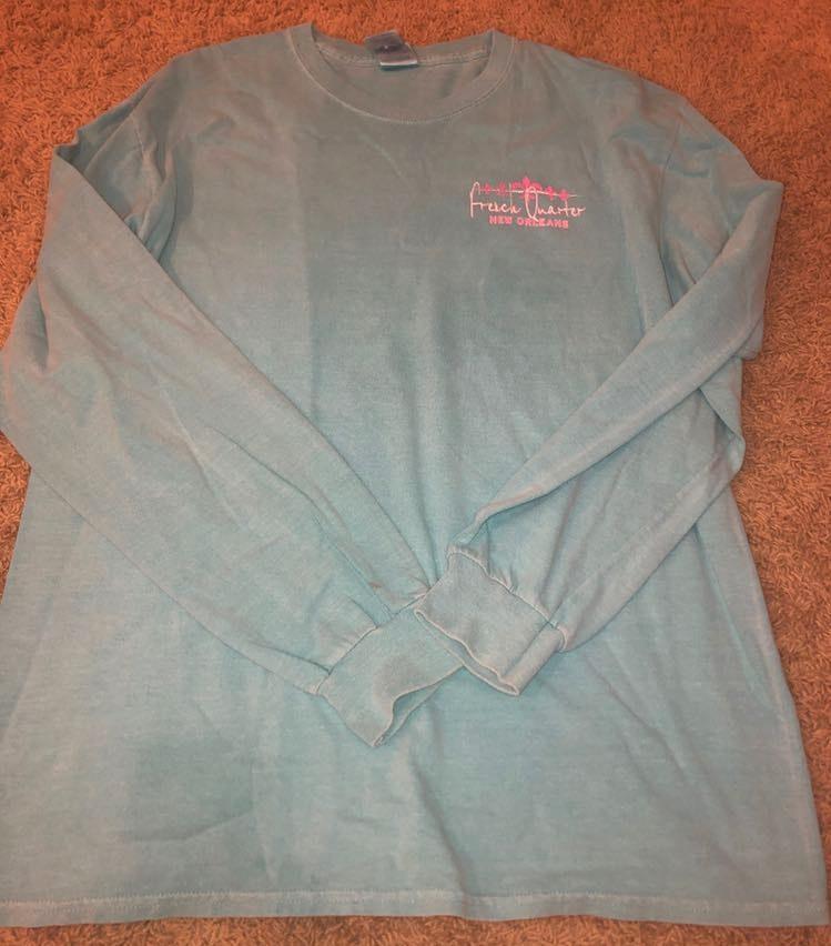 Gildan French Quarter NOLA long sleeve t-shirt