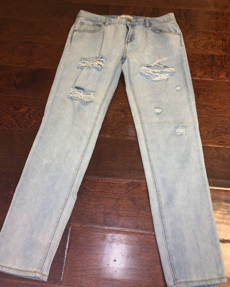 Pacsun Skinny Boyfriend Jeans