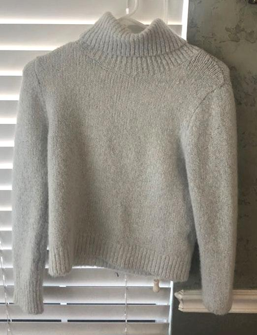 Brandy Melville Light gray turtle neck