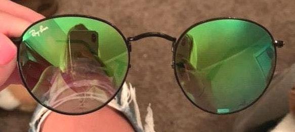 Ray-Ban Green Lens raybans