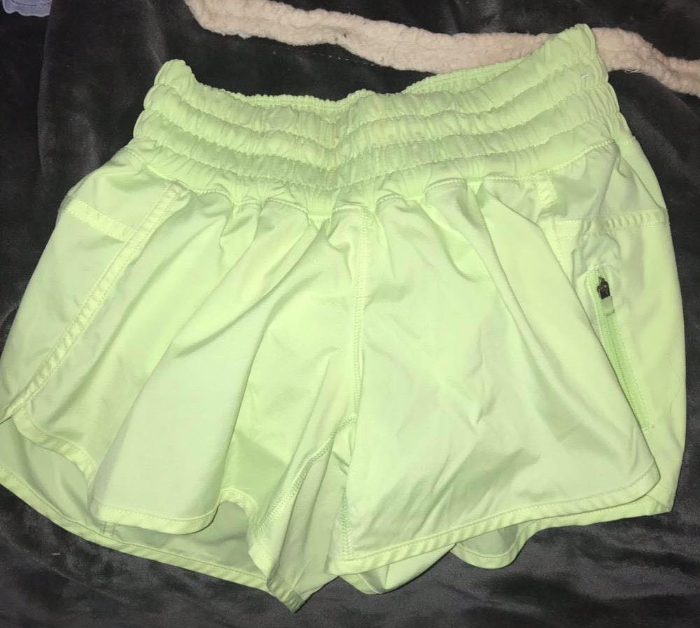 Lululemon Fluorescent  Shorts