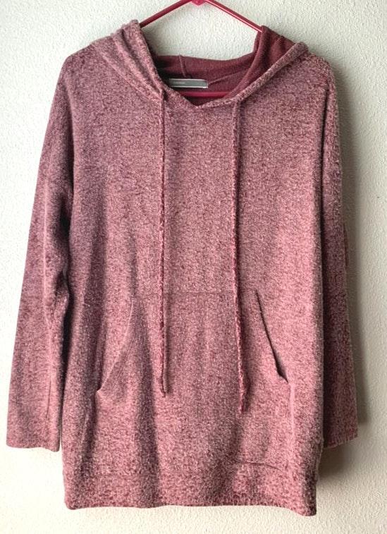 Cherish Fluffy Hooded Sweatshirt