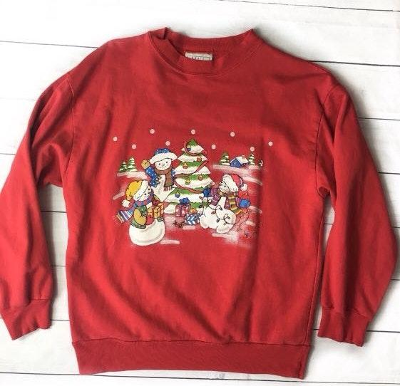American Vintage Vintage Ugly Christmas Sweater Medium
