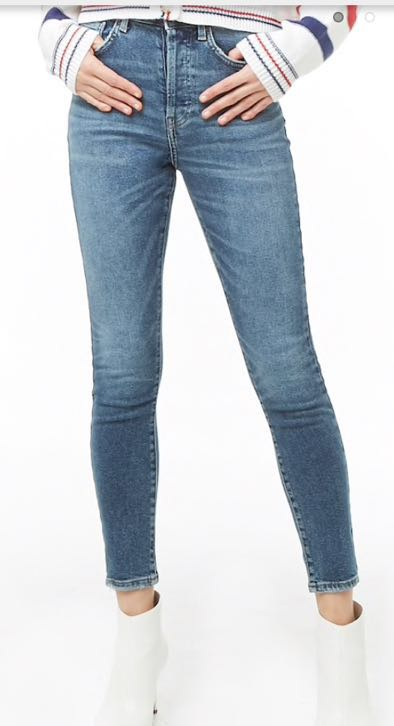 Forever 21 Simple denim jeans