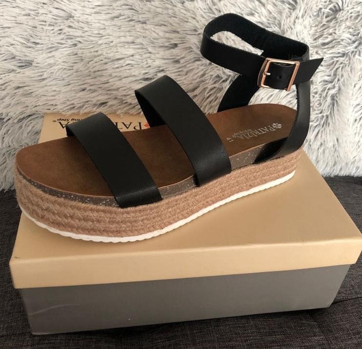 DSW Espadrille Platform Sandals
