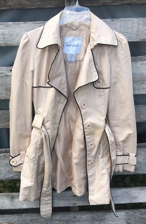 Wet Seal Cream Coat