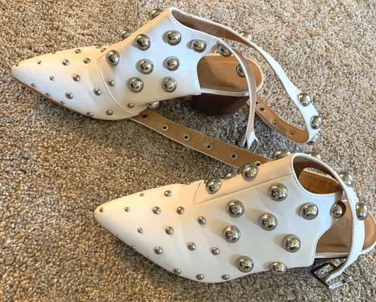 Qupid Studded Wrap Booties