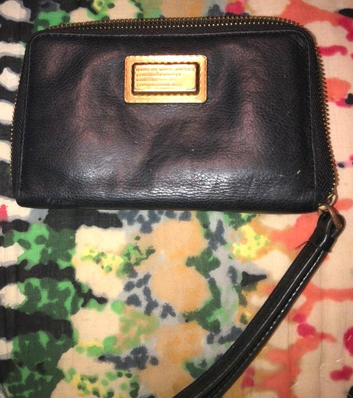 Marc by Marc Jacobs Marc Jacobs Leather Wallet Clutch