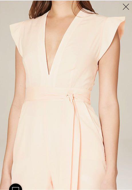 Bebe Blush Jumpsuit Size 2