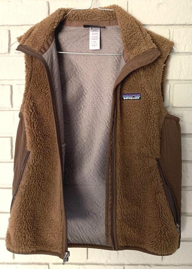 Patagonia Brown Furry  Vest