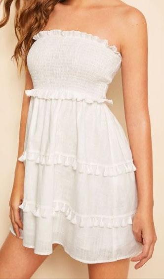 Tassel Tube Dress