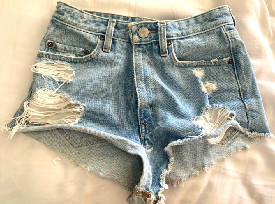 BDG High Waisted Jean Shorts