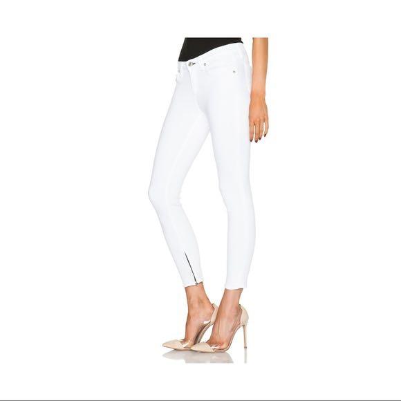 Rag & Bone White Skinny Jeans