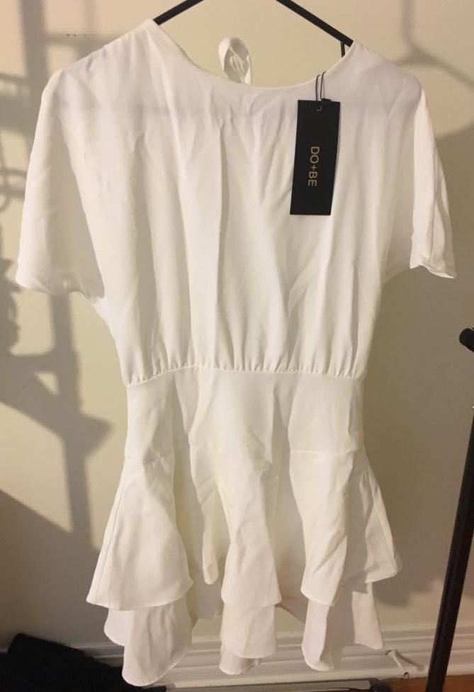 DO+BE White Dress