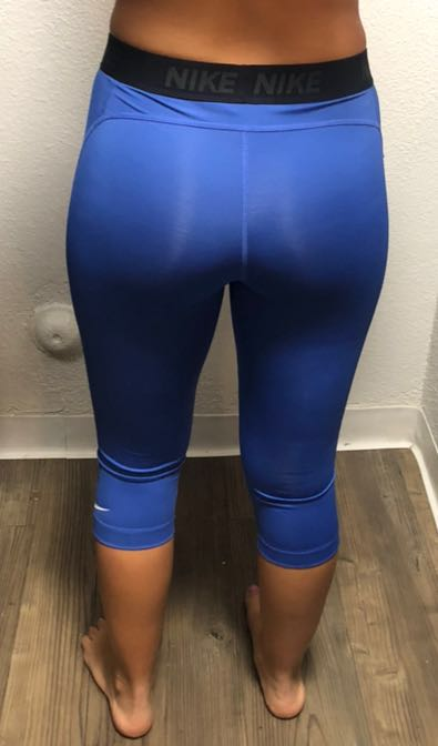 Nike Blue Crop Leggings