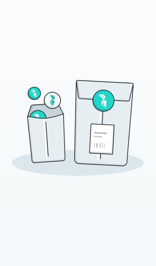 Curtsy Shipping Kit- 10 Mailer Kit