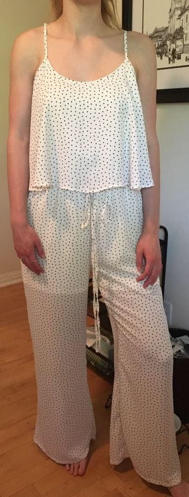 Dottie Couture Boutique white pattern jumpsuit