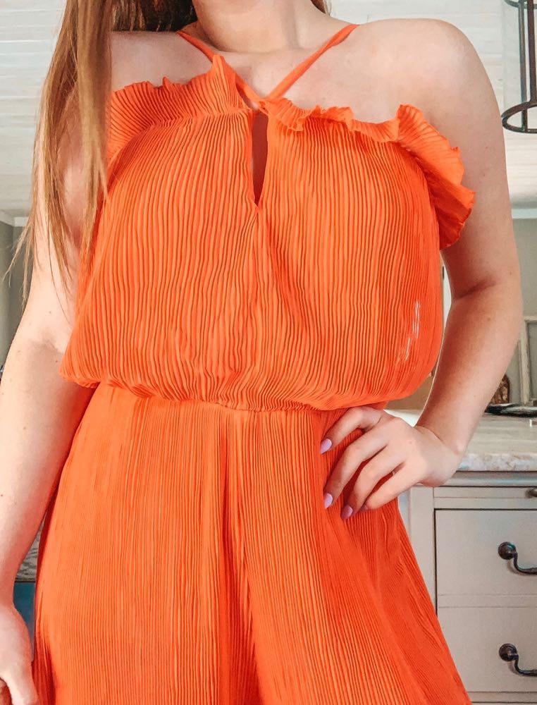 Missguided Orange Jumper !!