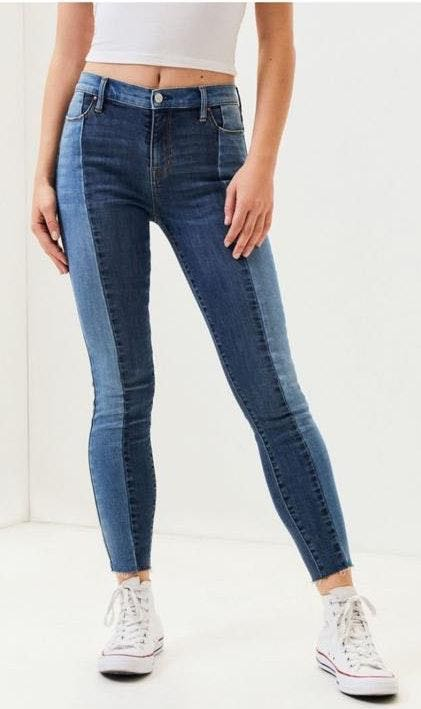 Pacsun Double Wash High-Rise Jeggings