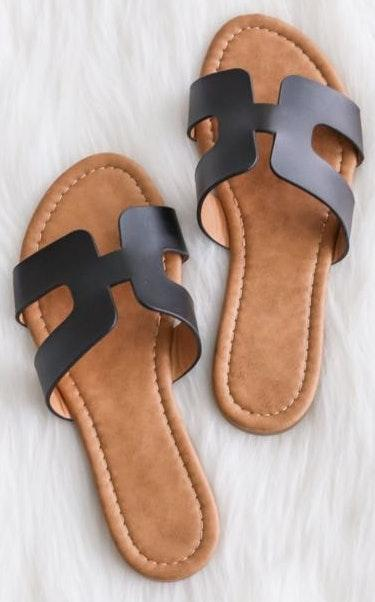 Brooklynns Walkin' On Sunshine Sandals
