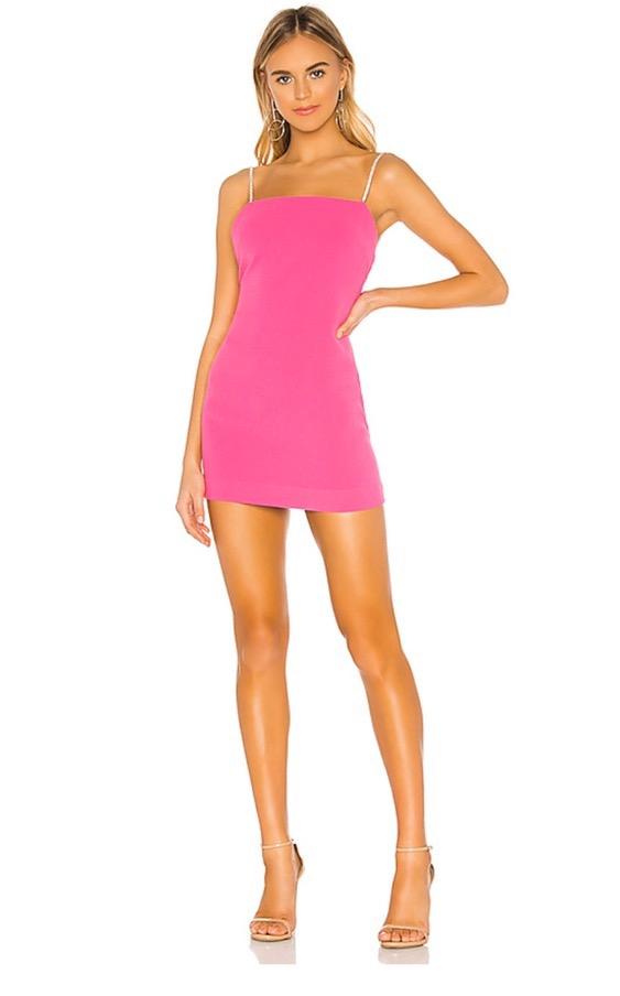 NBD Pink Cocktail Dress