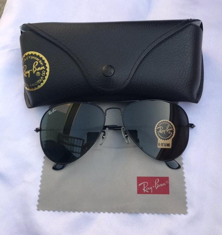 Ray-Ban aviators 3025 sunglasses