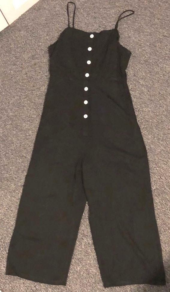 SheIn Black Jumpsuit