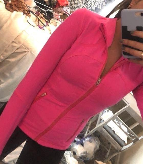 Lululemon Pink  Jacket