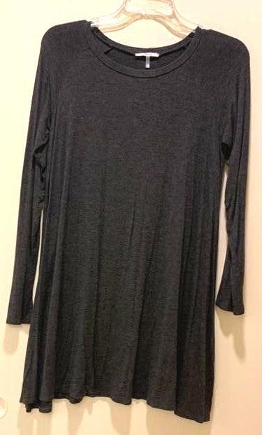 Soprano Grey Sweater Dress