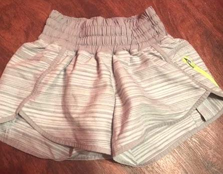 Lululemon Grey Workout Shorts