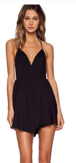 Revolve Black Dress