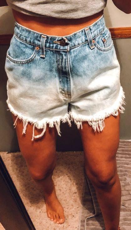 Levi's Ombré Shorts