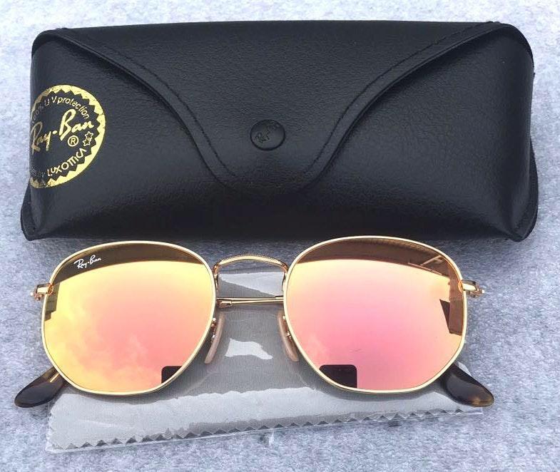 Ray-Ban Ray Ban 3548 Rose Gold Sunglasses