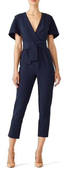 The Fifth Label Navy Manhattan Jumpsuit
