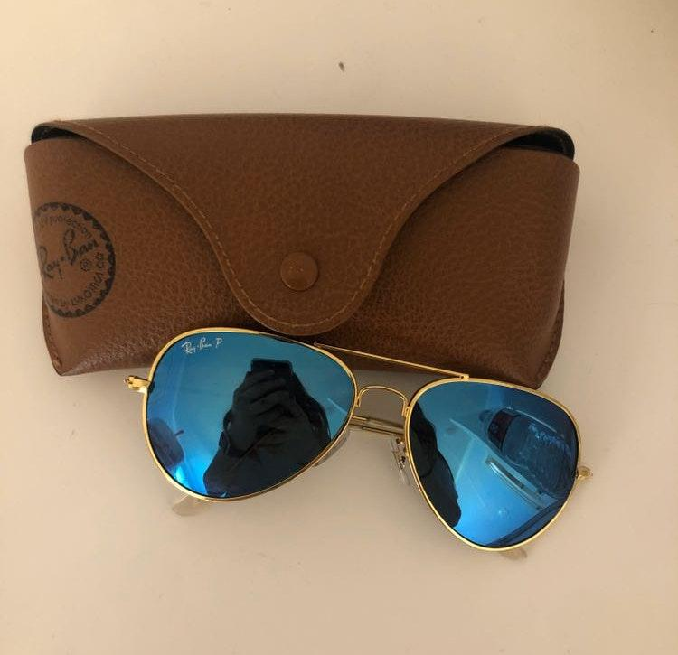 Ray-Ban Blue Polarized Ray Ban Aviators