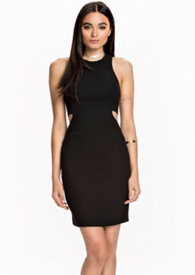 Finders Keepers Black Cutout Dress