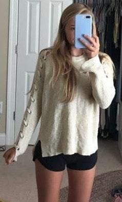 Knit Cream Sweater