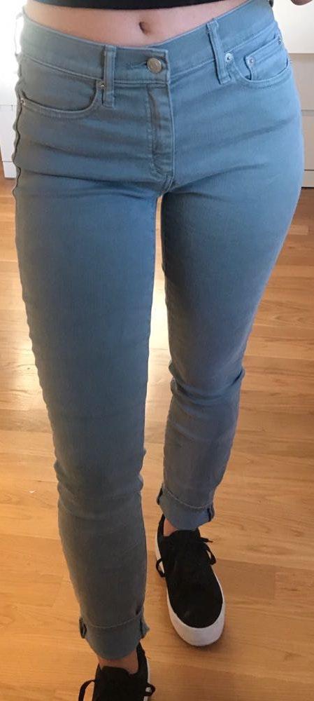 Gap Blue/Gray True Skinny Jeans
