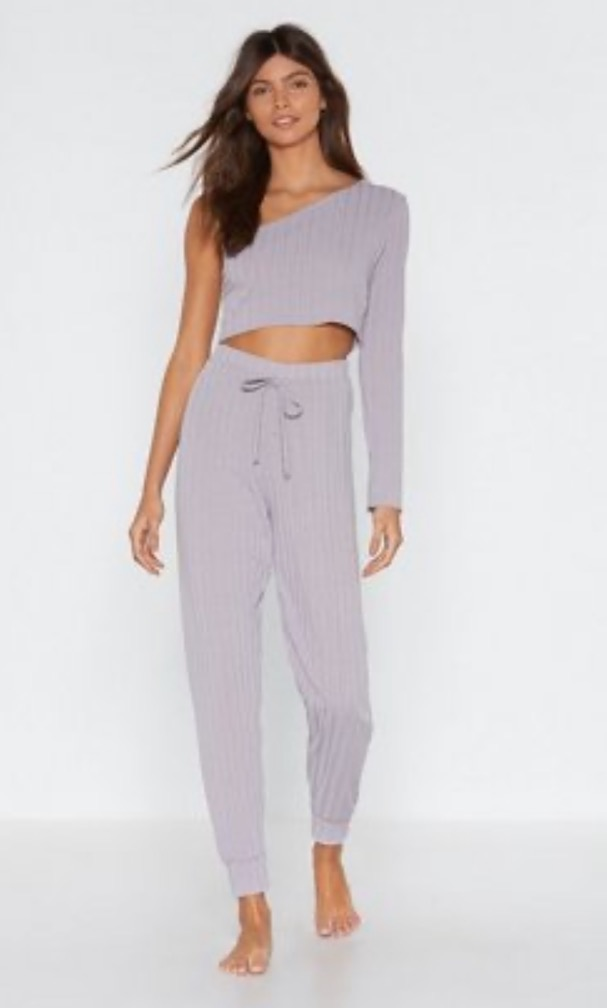 Nasty Gal Lilac Loungewear Set