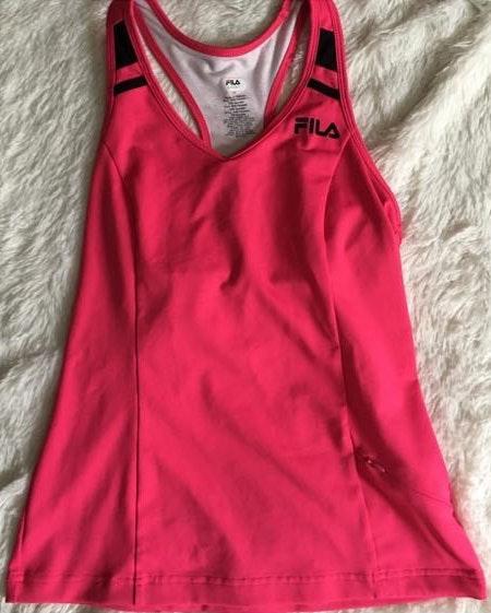 FILA Hot Pink Workout Tank Top