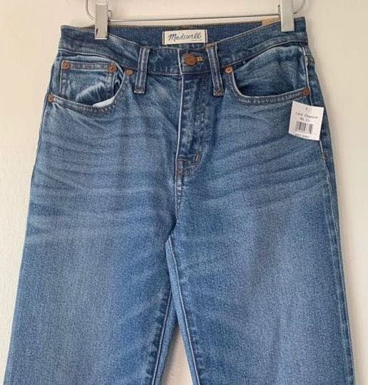 Madewell High Waisted Mom Jeans