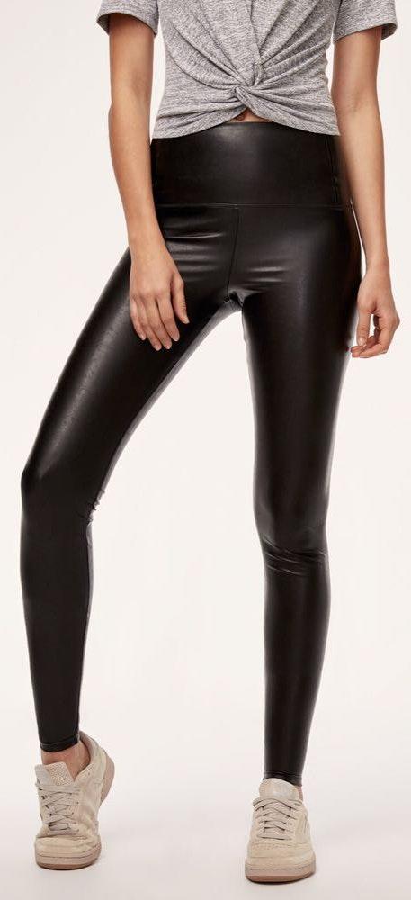 Aritzia Wilfred Free Da Faux Leather Legging
